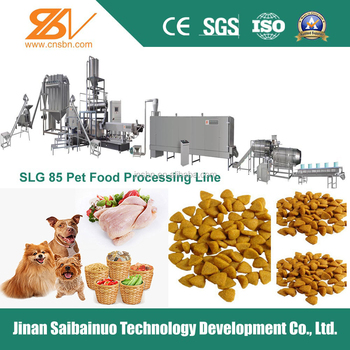 Stainless steel dog food production line