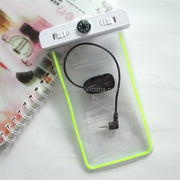 waterproof multi-color tpu swimming mobile phone bag with armband strap