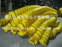 8 inch fire resistant and high quality pvc flexible air duct hose