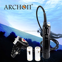 New ARCHON WH32 powerful 1000 lumens headlamp Rechargeable canister diving light