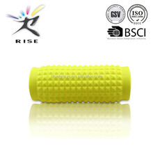 Roller Massage Stick - Rubber Foam Muscle Roller Exercise Trigger Point Acupressure Therapy Tool