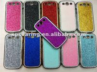 silver chrome case skin cover for Samsung Galaxy S3