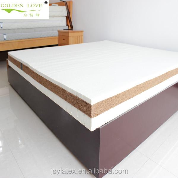 2018 wholesale Natural latex Coconut Fiber Mattress for bedroom furniture - Jozy Mattress | Jozy.net
