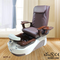2015 portable beauty nail colored salon chairs KZM-S177-1