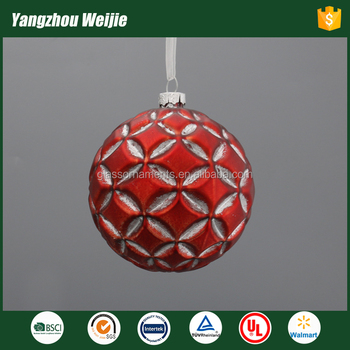 2017 red hanging ball products christmas ornament ball