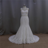 Factory outlet heavy beaded wedding dresses france made in china