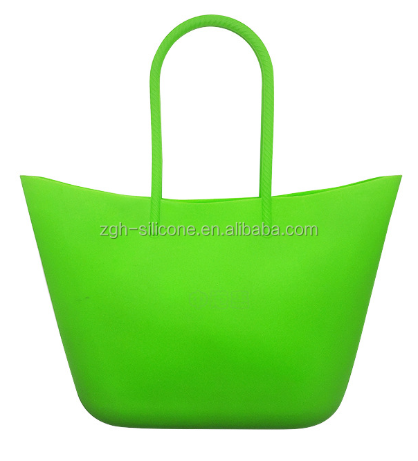 Waterproof Beach Bag Silicone Handbag Tote Beach Bag For Women