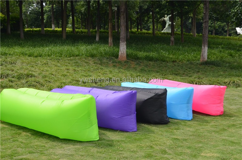 Fast filling waterproof Inflatable lazy air sofa outdoor sofa
