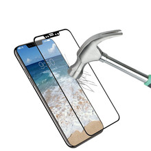 Phone accessories mobile anti-fingerprint glass for iphone x screen protector, for iphone x tempered glass anti-scratch