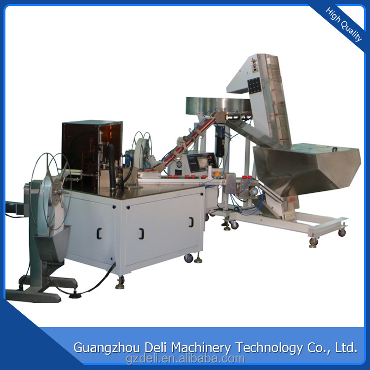 Wholesale From Guangzhou Automatic Double Cap Lining Cap Assembly Machine With High Speed
