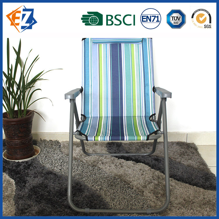 Foldable Leisure Plastic Beach Chair and Bed