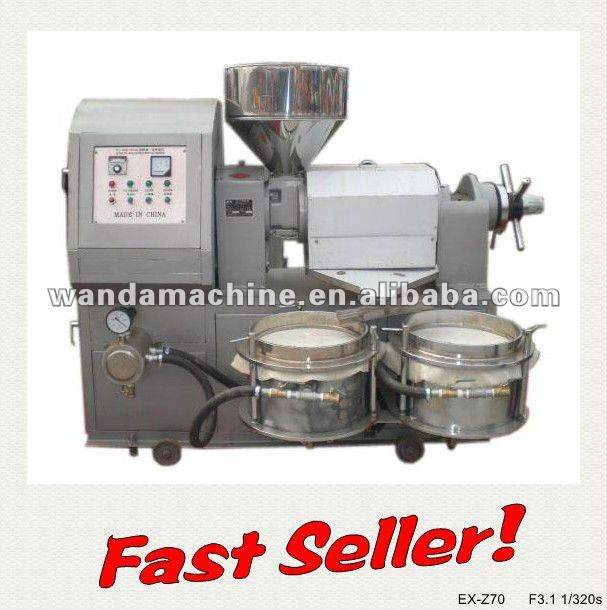 Capacity:3-4t/24h,Palm/Cotton/ Sesame Seeds Screw Oil Mill with CE Certificate