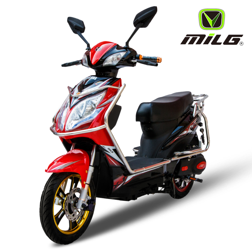 Women Used 450W Moped Cheap Electric Scooter/Motorcycles for Sale