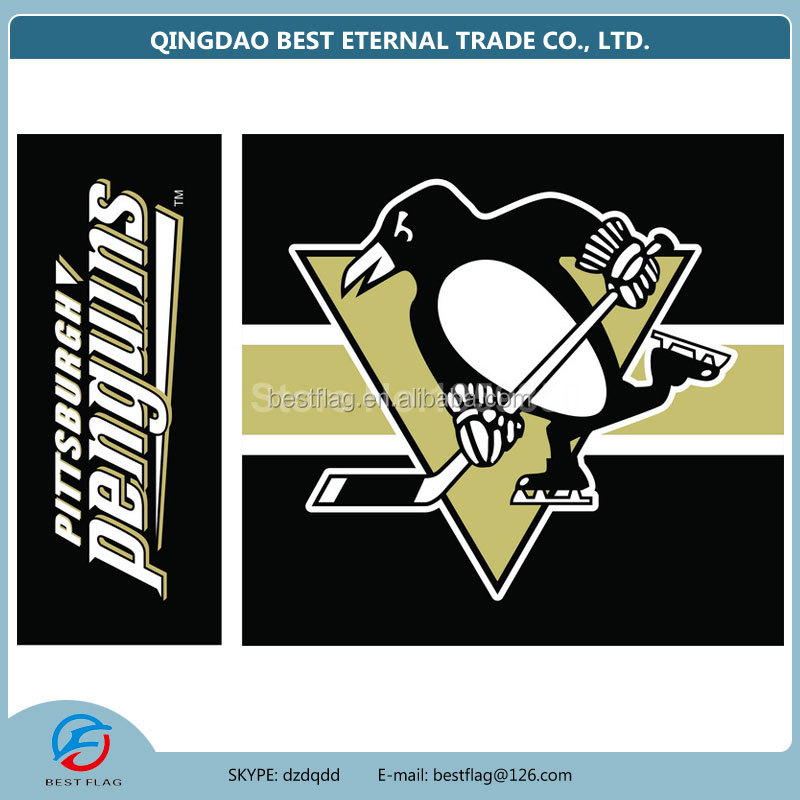 Best Flag - Pittsburgh Penguins 3x5 NHL Banner Flag