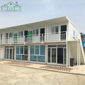 Factory price steel frame flat pack container prefab home for sale