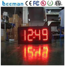 led sports timing clock 6 digit 7 segment gym led countdown timer