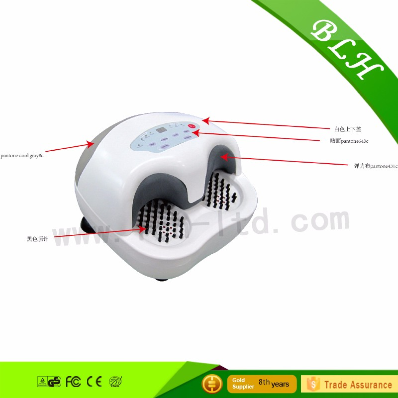 2016 unique new design airbags automatic foot massager New Shiatsu rolling infrared foot massager for health care