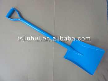best quality different colour of steel handle shovel spades S501