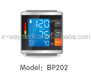 CE FDA Wrist digital blood pressure monitor