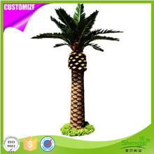 Nature looking artificial outdoor canary date palm landscape tree for decoration