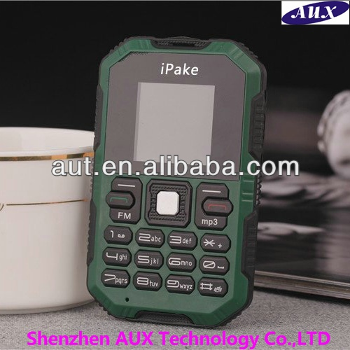 2014 Anti-shock ultra thin rugged card mobile phone Q8