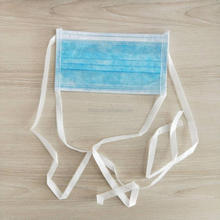 Surgical White Ear Loop 2ply Disposable Face Mask For Food Service