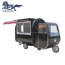 Electric mobile snack food,fast food,fruit,juice,ice cream cart foodtruck