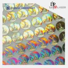 2014 New design certificate hologram stickers, number stickers hologram