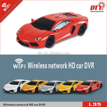 HD 720p 140 degree wide angle mini car video recorder vehicle black box wifi car dvr,L35