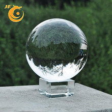 China custom transparent 40/60/80/100/120mm round ornaments christmas ornaments snow marbles gift glass ball