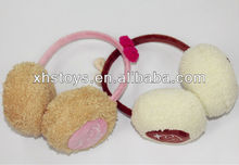2012 hot sale plush fashion winter fur earmuffs
