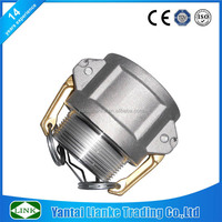 "aluminium camlock male threaded hose coupling b 1/2"" cam and groove coupler x 1/2"" male npt"