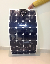 22% High Efficiency High Performance Flex Solar Panel 100 Watt Semi Marine Flexible Solar Panel Price China 50W 120W 200W