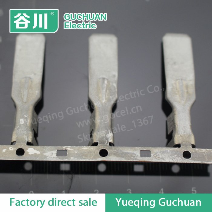 Chain terminal lugs Round terminal connectors belt buckle large favorably DJ611-9.5*1.2D