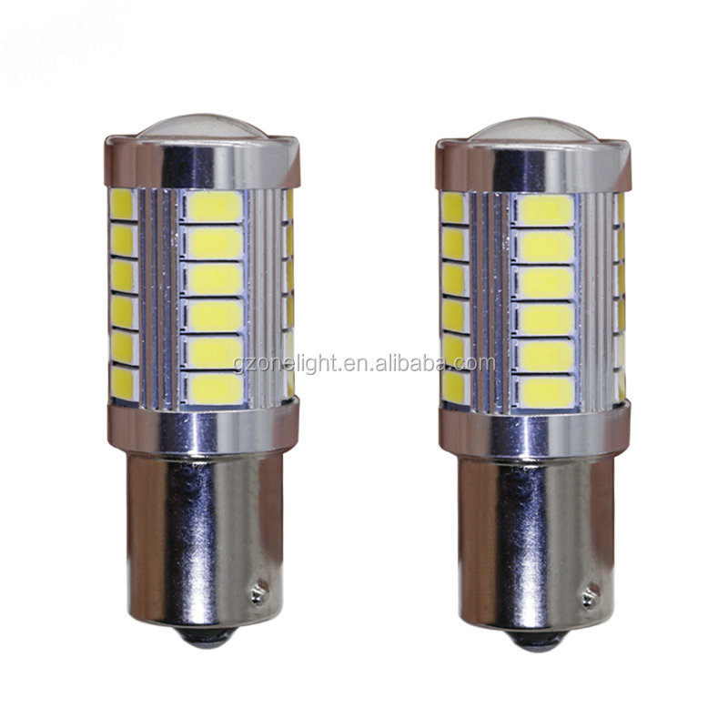 S25 5730 33 SMD P21/5W 1157 BAY15D 12V 24V Brake Stop Lights Auto Led Bulbs White Blue Red Amber Warm White