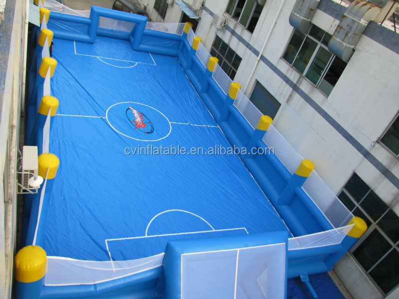 PVC inflatable football pitch for adult inflatable dolls