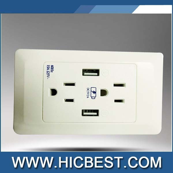 Power UK Socket USB Hub with USB, wall charger adaptor with AC 250V 13A 50HZ