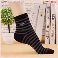 Custom Wholesale High Quality Classical Stripe Cheap Mens Dress Socks