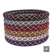 Best Price Ice Silk Steering Wheel Cover With many colors For Wholesale