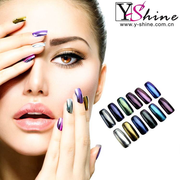 New arrival mirror effect pigment powder for nails