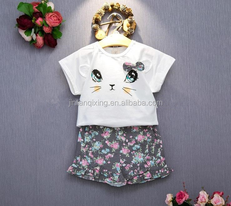 New design Cheap kids wear wholesale children s fashion clothing