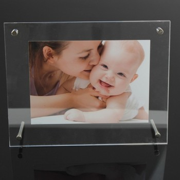 acrylic display for brochure poster frame
