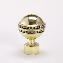 A005 Hardware Copper Curtain Rod Accessories Finials On Sale