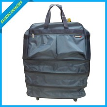 NEW SOFT CASE TROLLEY BAGS FOLDABLE TRAVEL HOUSE LUGGAGE
