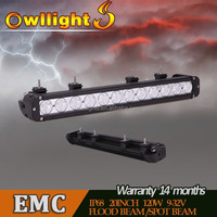 High Quality 20.3inch4x4 Offroad LED Light Bar IP68 Waterproof Auto Parts LED Driving Light Bar LED Spotlight Bars