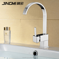 JM032 Single Lever Cold And Hot Water Brass bathroom wash Kitchen Faucet
