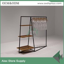 Wholesale garment display racks for women clothes store <strong>shelf</strong> in stock