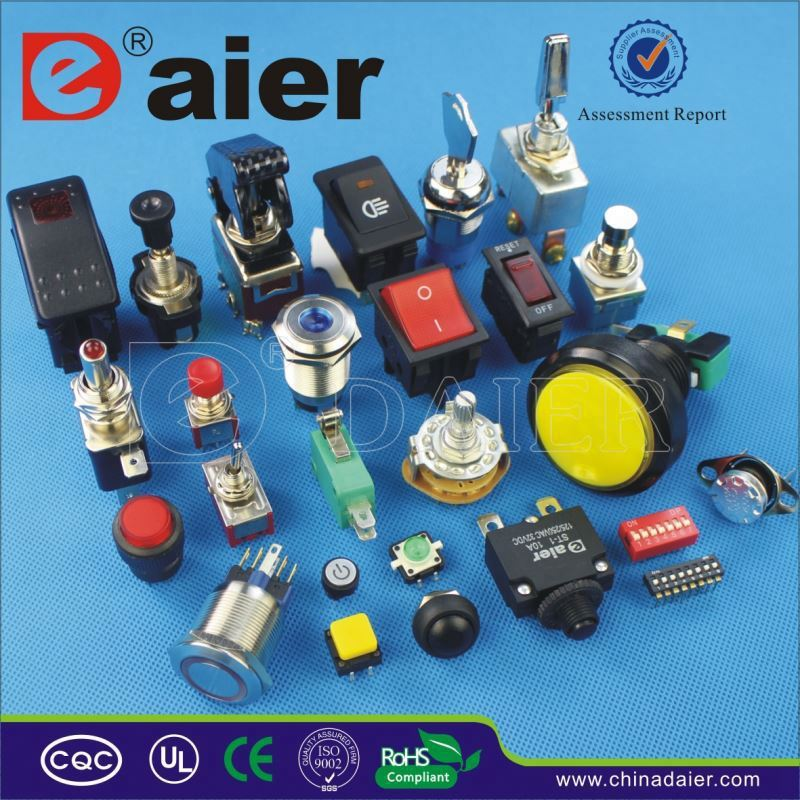 Daier surface mount momentary switch
