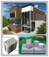 CE, ISO&BV China prefab house/prefabs - Daquan lightweight EPS cement sandwich wall panel building system.