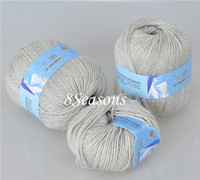 Multi-Color 1 Box 2mm Gray New Warm Soft Knitting Wool Yarn Manufacturer Importers For Hand Knits